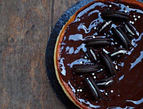 Csokis oreós sajttorta